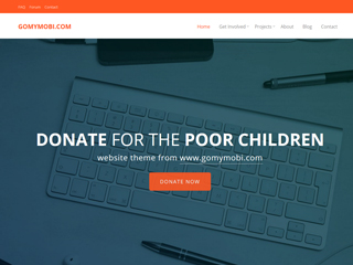 gomymobi.com - Temă: Charity: Happy Donation