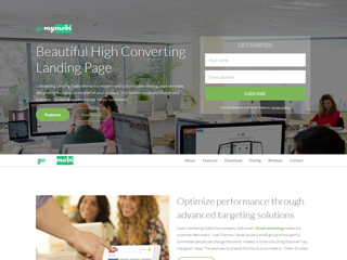 gomymobi.com - Theme: Converting Landing Pages