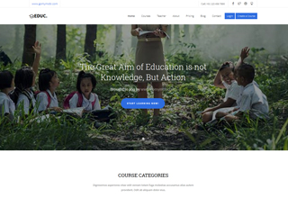 gomymobi.com - Tema: Education: eLearning School
