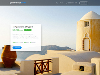 gomymobi.com - Tema: Estate: Real Estate Deals