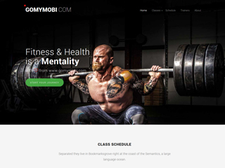 gomymobi.com - Theme: Fitness: Healthy Trainers