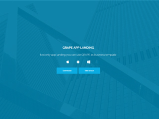 gomymobi.com - Tema: Grape App Landing