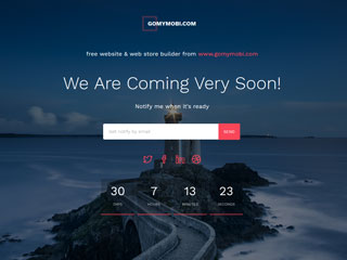 gomymobi.com - Tema: Launch: Coming Soon