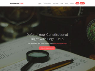 gomymobi.com - Temă: Law: Legal Solutions