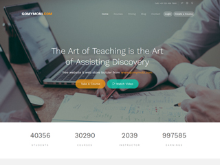 gomymobi.com - Theme: Learn: Online Study & Teach