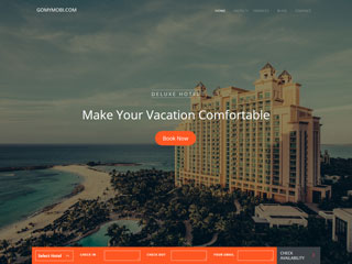 gomymobi.com - Tema: Luxe: Hotels & Rooms