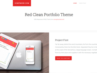 gomymobi.com - Theme: Red Clean Portfolio