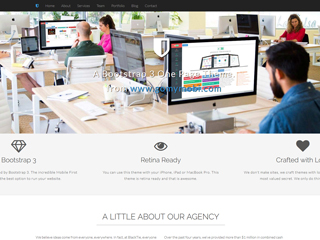 gomymobi.com - Tema: Shield: Agency One Page