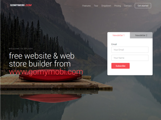 gomymobi.com - Temă: Splash: Products Showcase