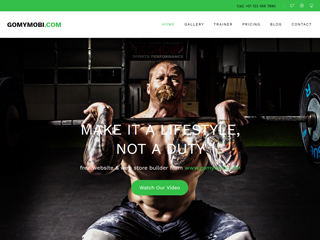 gomymobi.com - Thema: Stamina: Gym, Yoga & Fitness