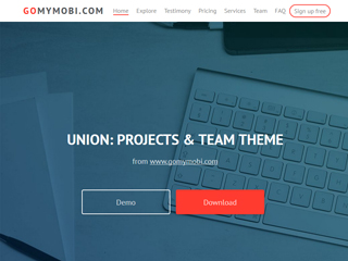 gomymobi.com - Tema: Union: Project Team